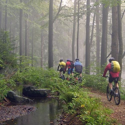 Mountainbike-Tour Bayerischer Wald